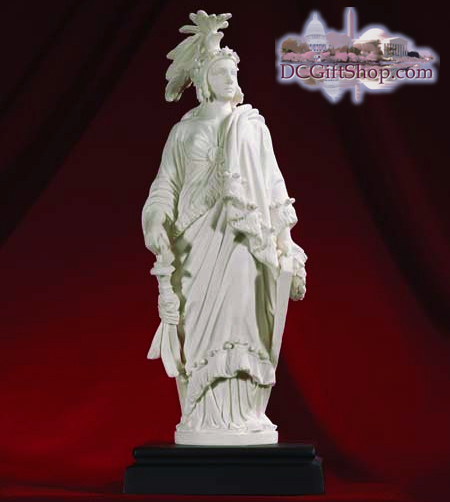 Gifts - Statue - US Capitol Marble Statue of Freedom