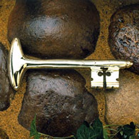 Gifts - Mount Vernon Bastille Key Paperweight Cast Iron
