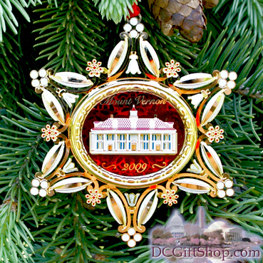 Ornaments - Mount Vernon 2009 Holiday Ornament