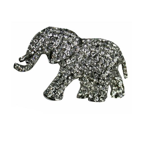 Gifts - Pendant - Elephant Crystal Brooch