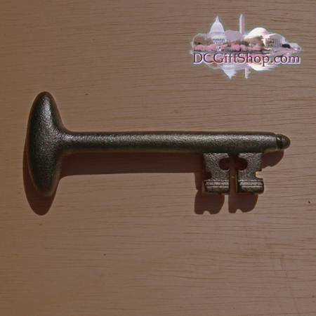 Gifts - Paperweight - Bastille Key Cast Iron