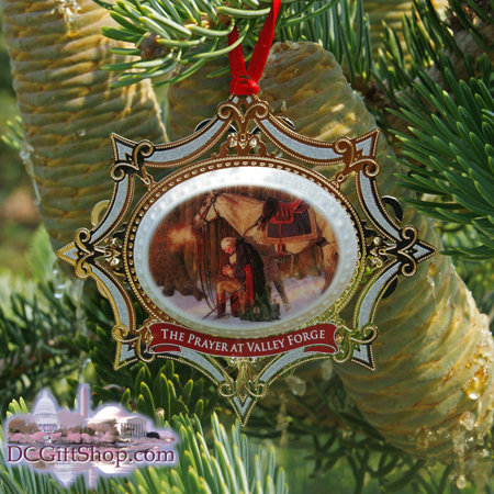 Ornaments - Mount Vernon 2011Prayer at Valley Forge