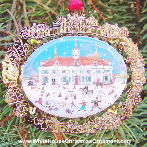 Ornaments - Mount Vernon 1997 East Front