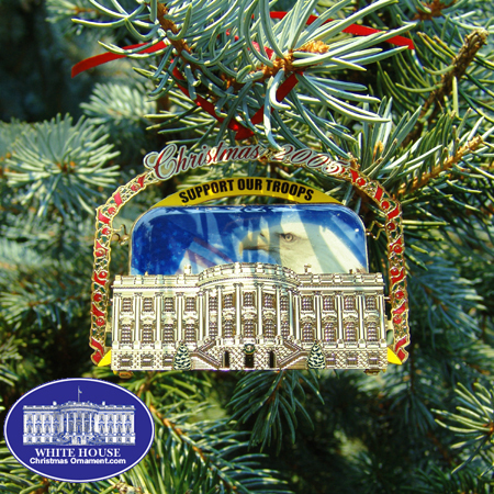 Ornaments - Secret Service 2005 Support Our Troops