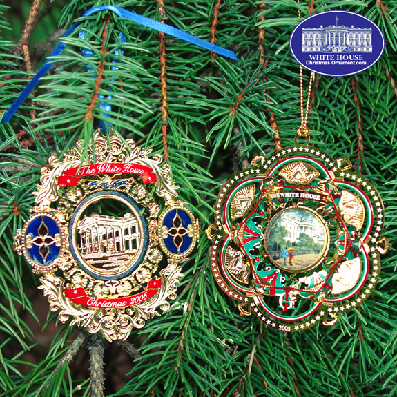 Ornaments - White House 2006 Ornament Gift Set