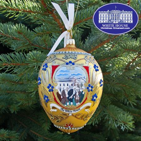 Ornaments - George Washington 2008 Administration