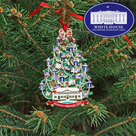 2015 Annual Mount Vernon Ornament