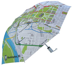 Gifts - Metro Subway Map Umbrella