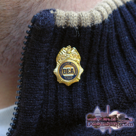 Gifts - Pin - DEA Badge Lapel