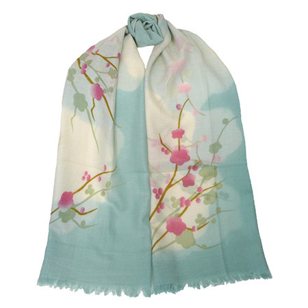 Gifts - Cherry Blossoms Scarf