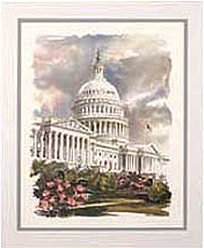 Gifts - Print - US Capitol East Front