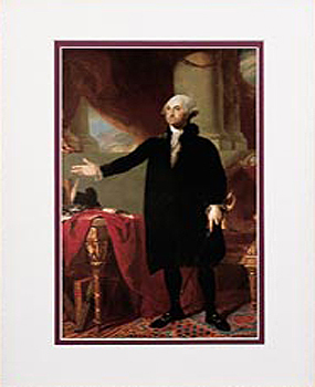 Gifts - Print - George WashingtonFramed