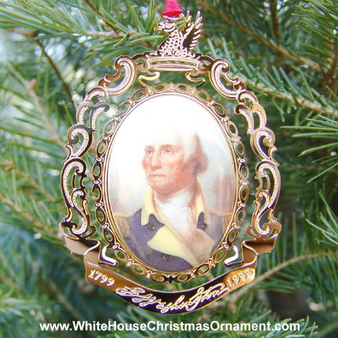 Ornaments - Mount Vernon 1999 Porthole Portrait