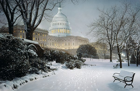 Evening on the Hill by Rod Chase