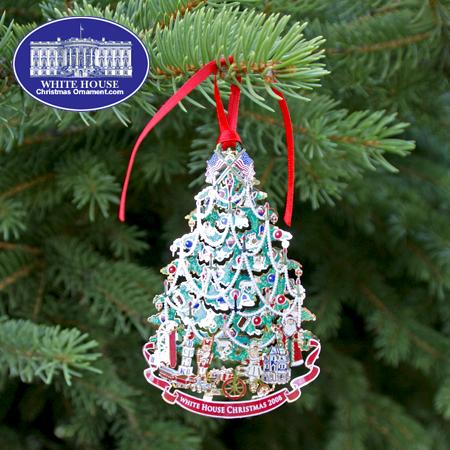 Ornaments - White House 2008 Benjamin Harrison