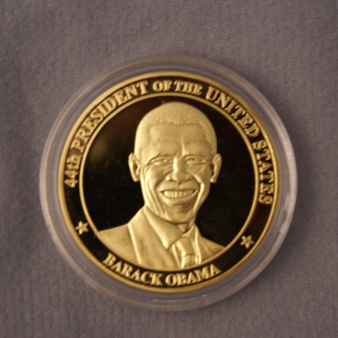 Gifts - 56th Inauguration - Obama Commemorative Coin
