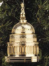 Ornaments - US Capitol 2000 Holiday Dome