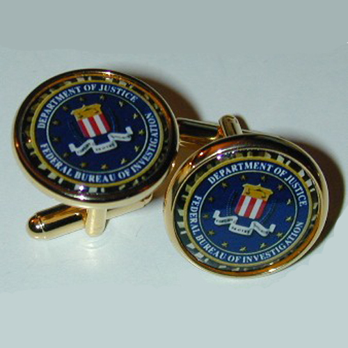 Gifts - Cuff Links - FBI