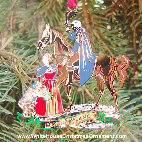 Ornaments - Mount Vernon 2002 Homecoming