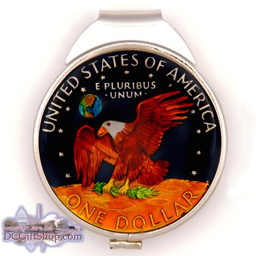 Gifts - Money Clip - Eisenhower Silver Dollar
