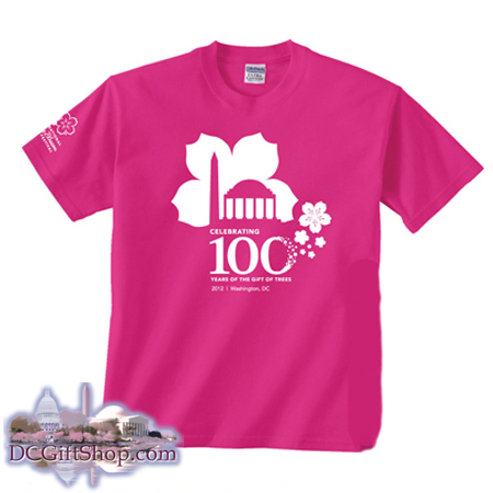 Gifts - Cherry Blossoms - 100th Anniversary T-Shirt