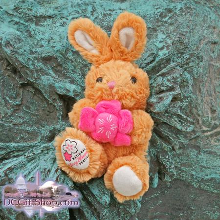 Gifts - Cherry Blossoms - Stuffed Animal Rabbit