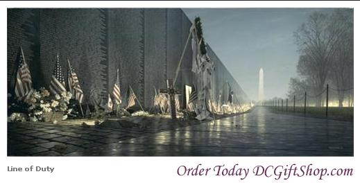 Gifts - Print - Line of Duty Vietnam Veterans Memorial