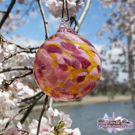 Ornaments - Glass - Sakura Peace Ball