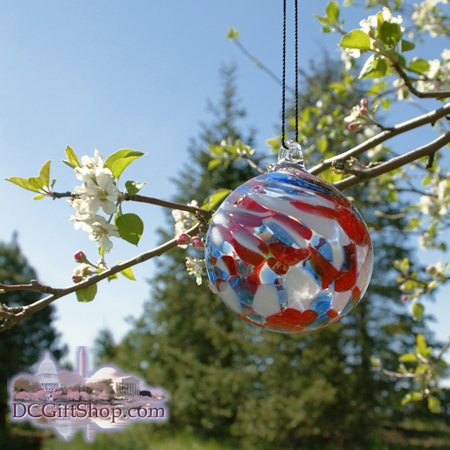 Ornaments - Glass - Patriotic Outdoor Ornament