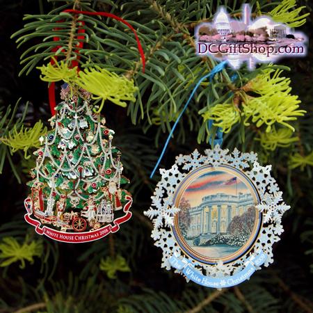 Ornaments - White House - 2009 Gift Set