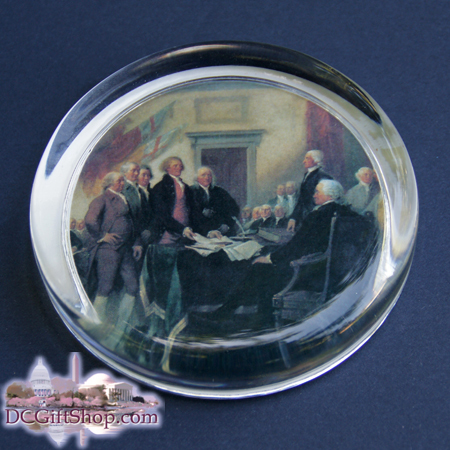 Gifts - Paperweight - Signing of the Declaration of Independence