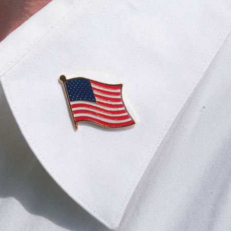 Gifts - Pins - American Flag