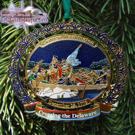 Ornaments - WDC Series Crossing the Delaware