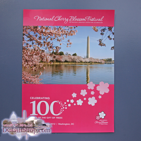 Gifts - Cherry Blossoms - 100th Anniversary Poster