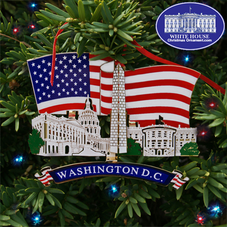 Ornaments - WDCSeries - Washington DC Landmarks