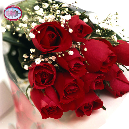 Mother's Day Dozen Red Roses