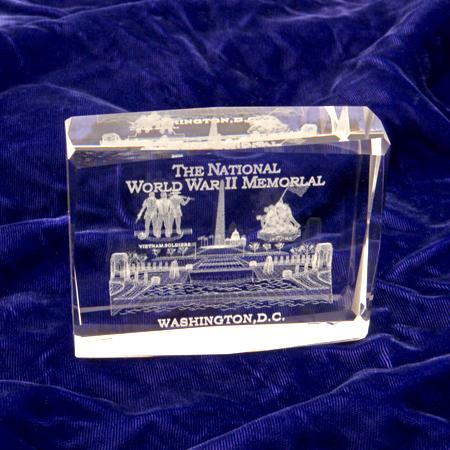 Gifts - Paperweight - National World War II Memorial