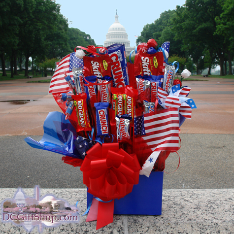 Gifts - Basket - Freedom Candy