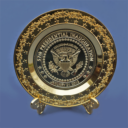 Inauguration - 57th Presidential Inauguration Plate