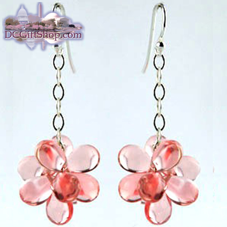 Gifts - Cherry Blossoms Dangle Earrings