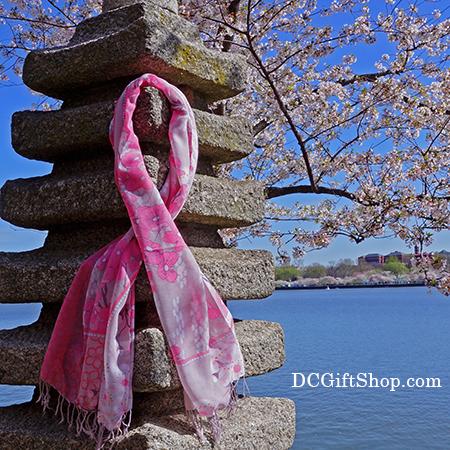 Official Cherry Blossom Pashmina Scarf