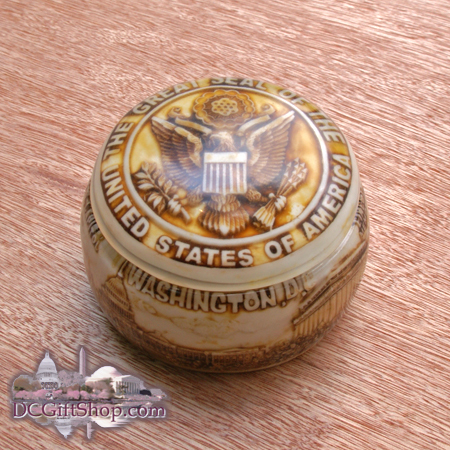 Gifts - Jewelry - Great Seal of the United States Storage Container