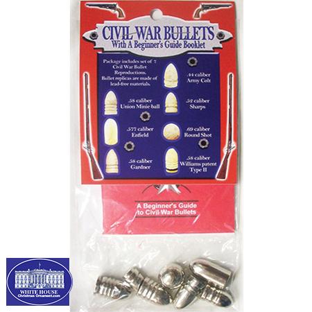 CIVIL WAR BULLETS & BOOK PACK
