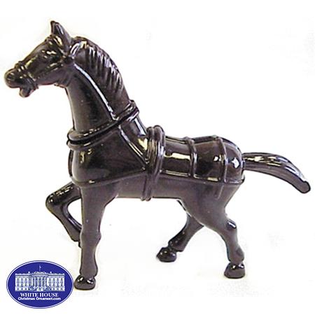 HORSE METAL FIGURINE