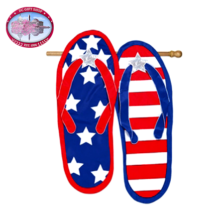 All American Flip Flop Flag (Regular Size)