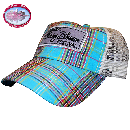 2014 Cherry Blossom Festival Plaid Hat