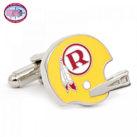Gifts - Retro Washington Redskins Helmet Cufflinks