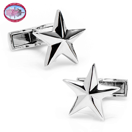 Gifts - Sterling Star Cufflinks