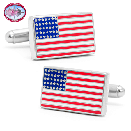 Gifts - American Flag Cufflinks