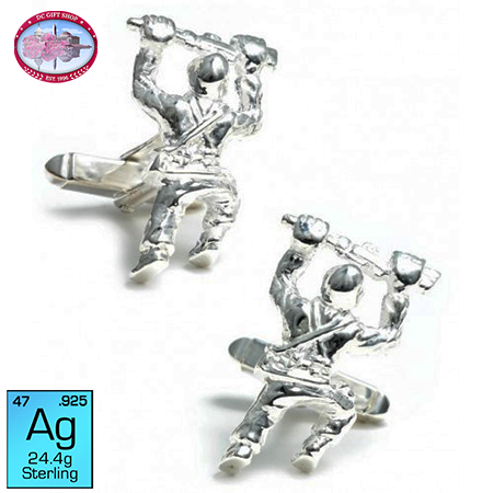 Gifts - Crawling Soldier Cufflinks
